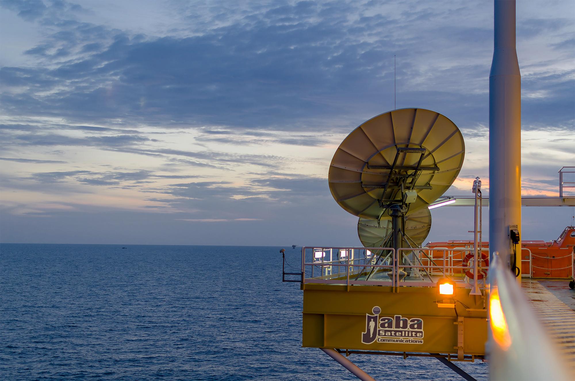 jabasat internet offshore communications
